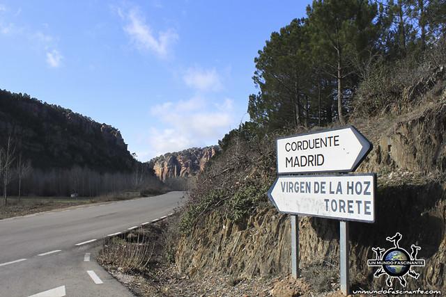 Barranco de la Hoz, Guadalajara. Castilla-La Mancha, España (Spain)
