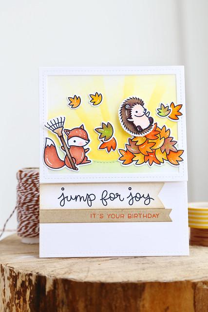 jump for joy! {lawn fawn fall/winter release week}