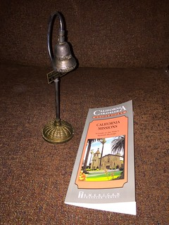 California Missions book and bell 18 July 2016