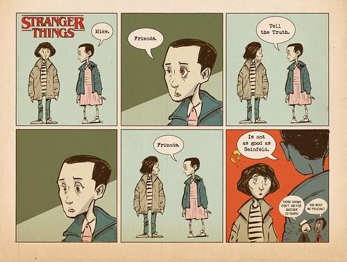 Stranger Things Sonny Liew