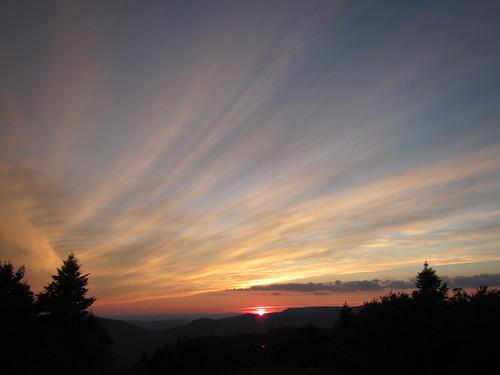 Sunset on Bromley Mt.
