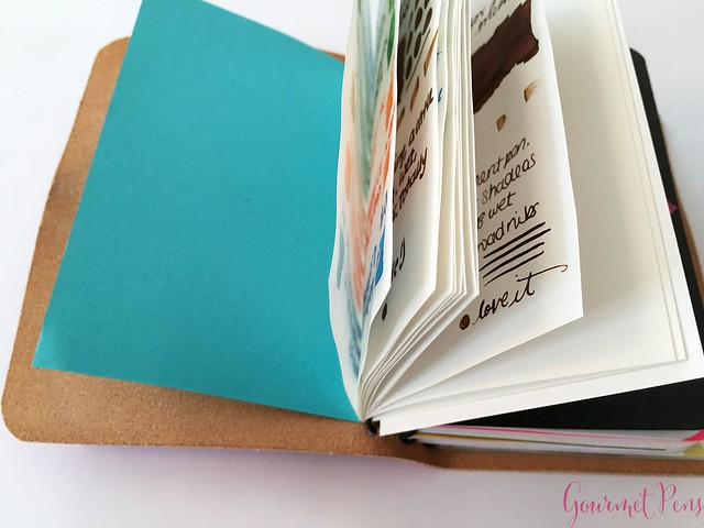 Review @InkJournal Pocket Tomoe Miami Notebook 18