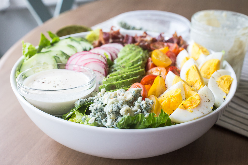 Cobb Salad for Two with Genius Caesar Salad
