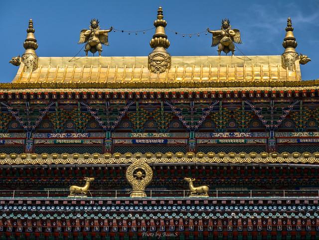 塔爾寺・金頂