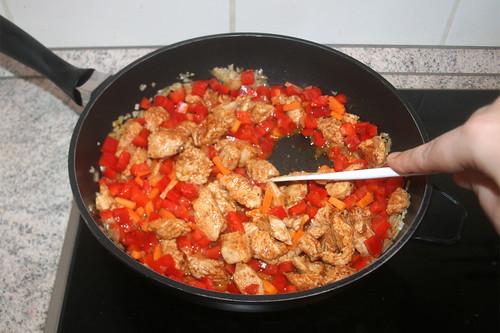 26 - Möhren & Paprika andünsten / Braise carrots & bell pepper