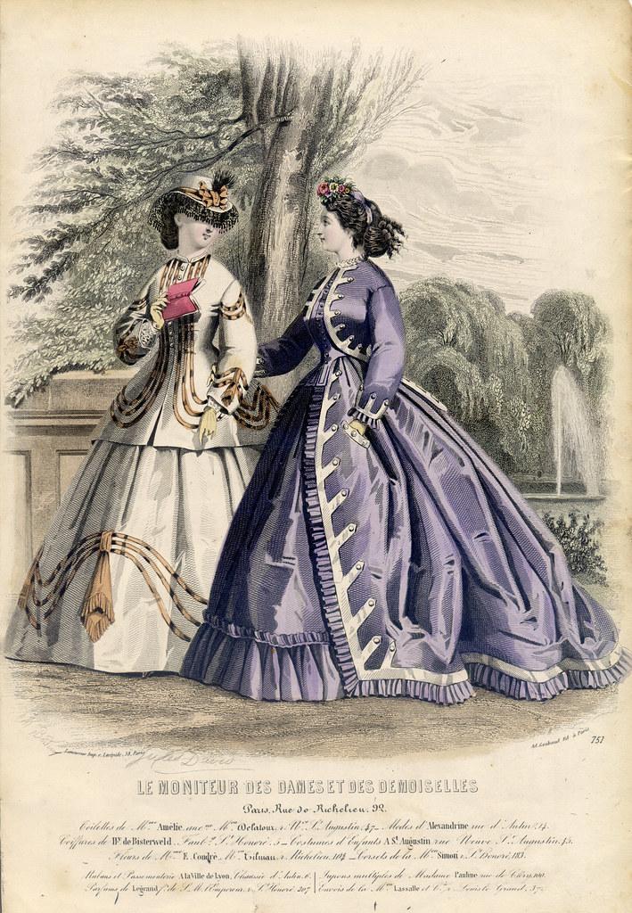 Le Moniteur des Dames et des Demoiselles