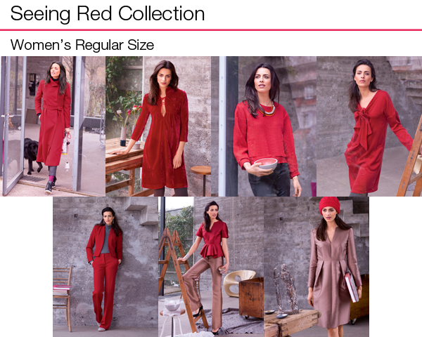 Seeing Red Regular Sized Collection