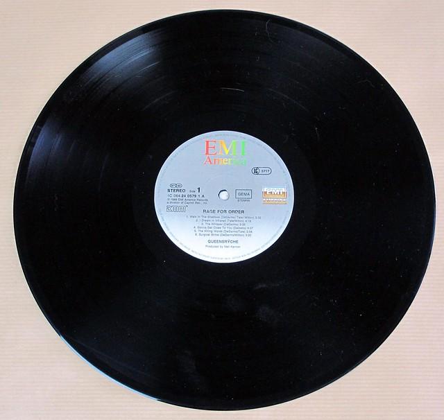 "QUEENSRYCHE RAGE FOR ORDER Germany 12"" LP VINYL"