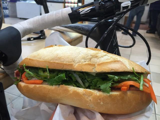 Bánh Mì Thịt Nguội (#1: Ham, Pate, Head cheese)