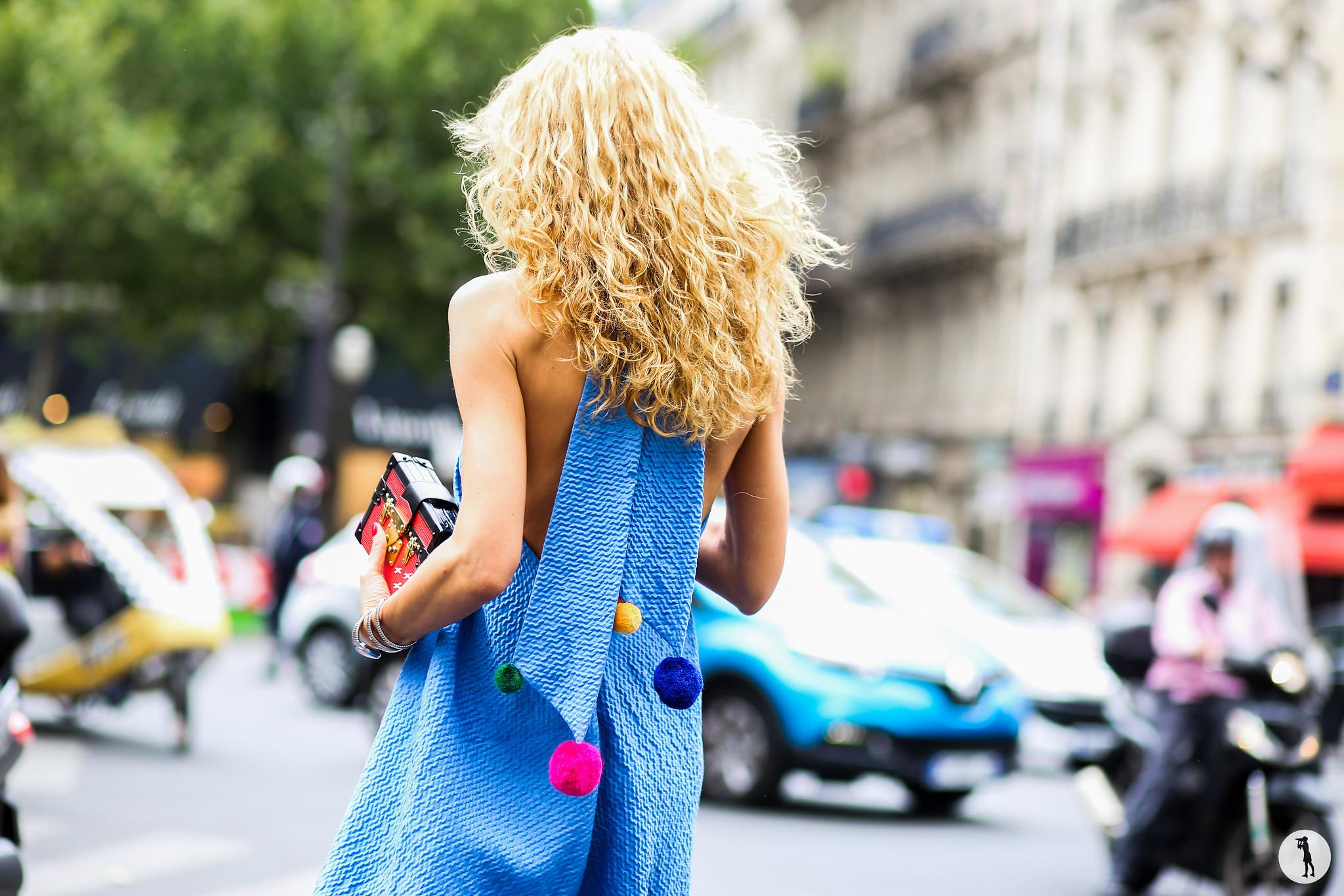 Elina Halimi at Paris Fashion Week Haute Couture