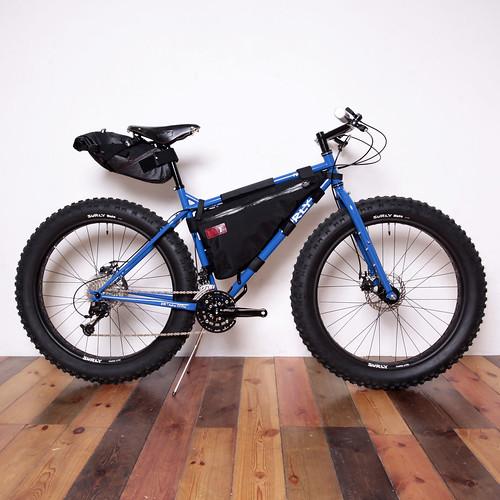 Surly Pugsley Above Bike Store Light Custom