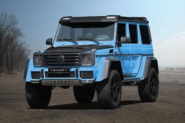 Тюнинг Mercedes-Benz G500 4×4² от Mansory