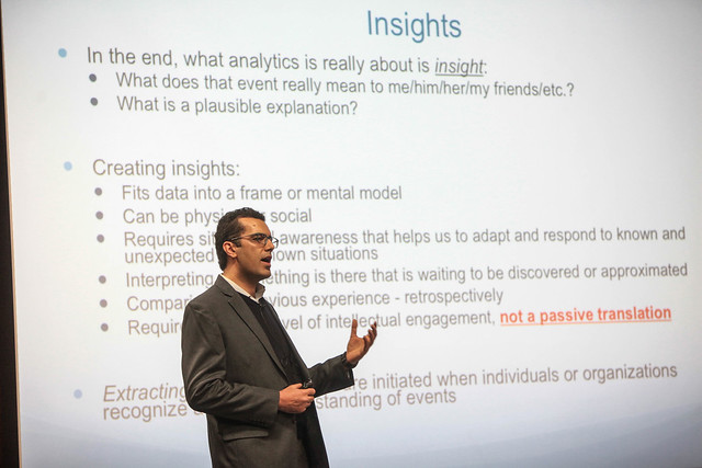 "Arash Nourian: ""High performance computing: intelligent data science at scale"""
