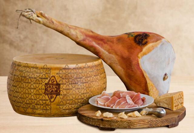 Win Italian Ham and Cheese | Prosciutto di San Daniele + Grana Padano