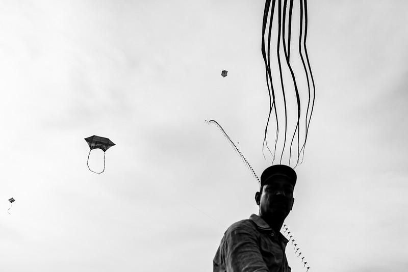 Kite Festival @ Pondy, 2014