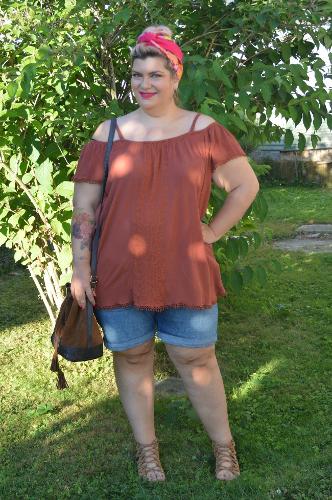 Outfit plus size shorts (8)