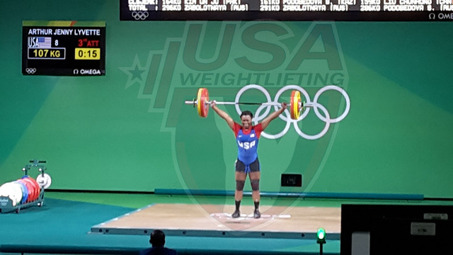 Rio 2016 - Day 7 - Jenny Arthur Competes