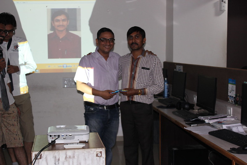 bhaval patel with Anil Solanki