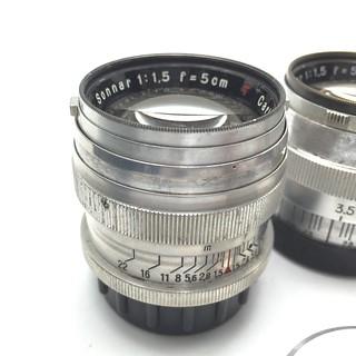 Sonnar 5cm /1.5 Leica mount. type2