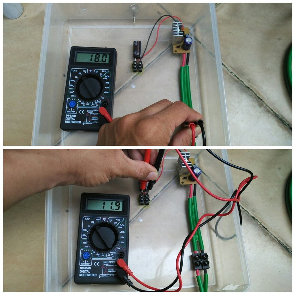 DC Converter Input & Output