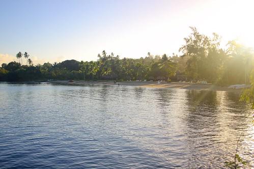 playa del hotel Sofitel Tahiti