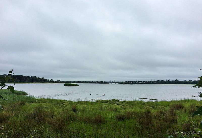 High tide in Upton Lake