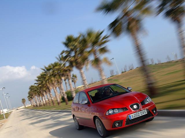 Горячий хэтчбек Seat Ibiza III FR. 2006 – 2007 годы