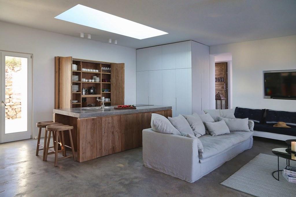 Дом на острове Сирос в Греции. Проект Block722