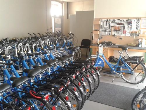 les vélos en maintenace