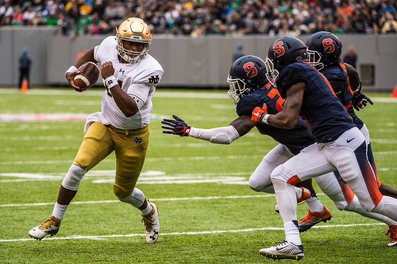 SU Football: Syracuse vs Notre Dame at Metlife Stadium