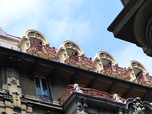 balcons étonnants