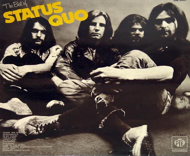 """Status Quo Ain't Complaining 12"""" vinyl LP"""