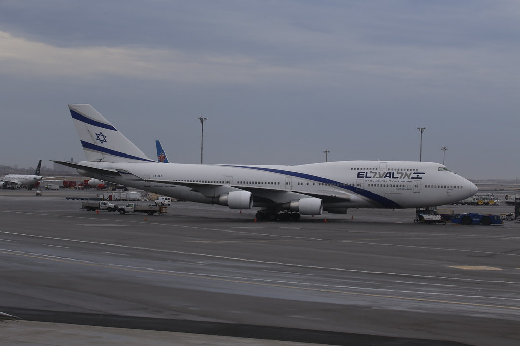 EL Al Boeing 747-400  - (reg.4X-ELB - MSN 26056 - LN:1032) in New York
