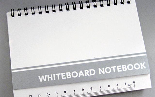ダイソー ホワイトボードノート 100円ショップ 100均 文具 文房具