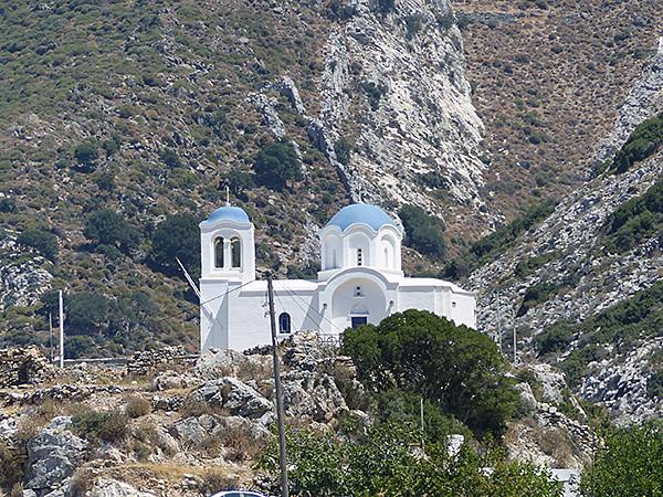 église au-dessus de Filoti
