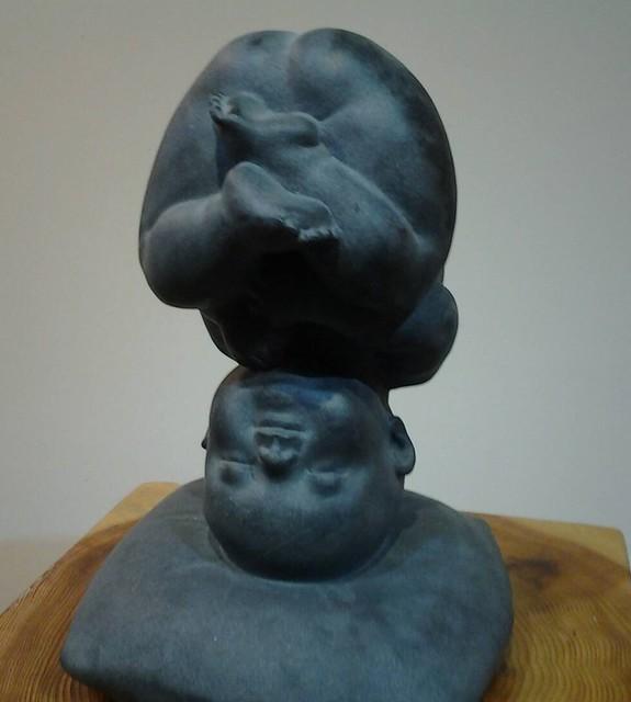 王秀杞雕塑展 (28)