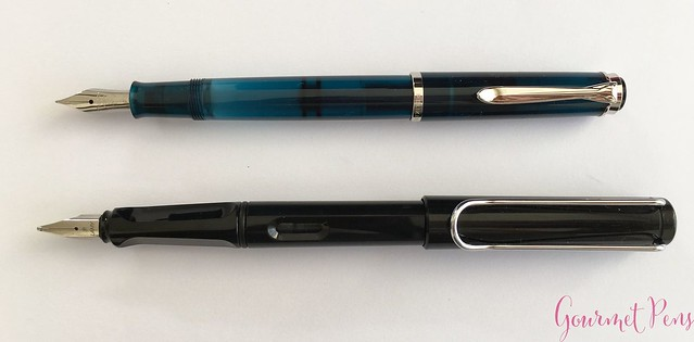 Review Pelikan Classic M205 Aquamarine Fountain Pen Review @AppelboomLaren 7