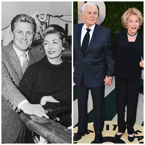Фото тогда и сейчас: Фото тогда и сейчас: Кирк Дуглас и Энн Байденс