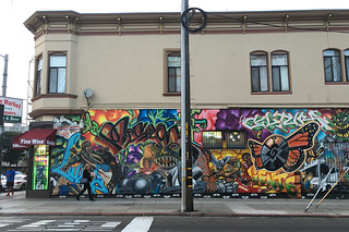 26th St. Murals - Wide mural