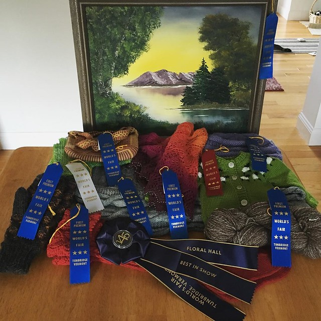 Everything I entered in the fair this year.