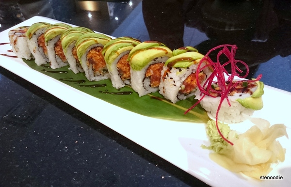 Spicy Caterpillar Roll