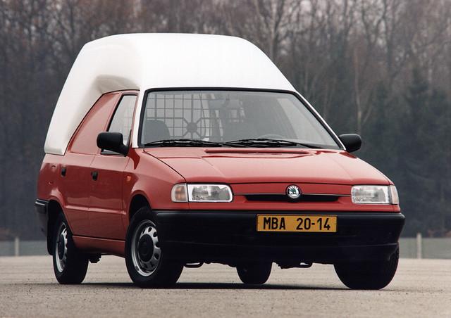 Фургон Skoda Felicia Van Plus. 1995 - 2000 годы производства