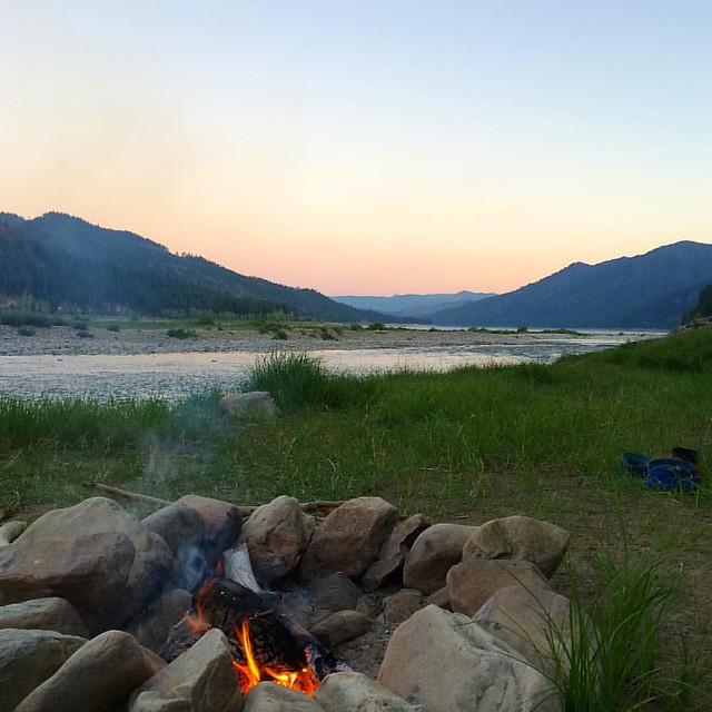 Camping love.