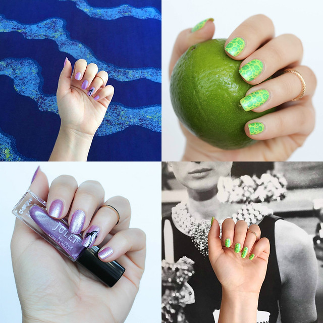 Manicure Summer Nail Art Nails Beauty on Living After MIdnite by Blogger Jackie Giardina July 2016
