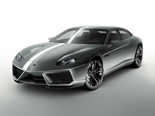 Lamborghini Estoque. Концепт 2008 года