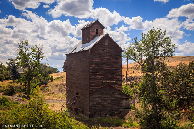Grain Elevator in Boyd, OR