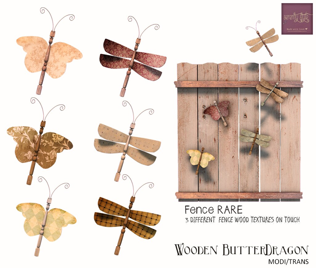 Serenity Style-Wooden ButterDragon Gacha