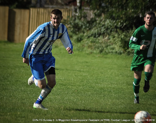 Cliffe FC Sunday 3 - 5 Wigginton Grasshoppers