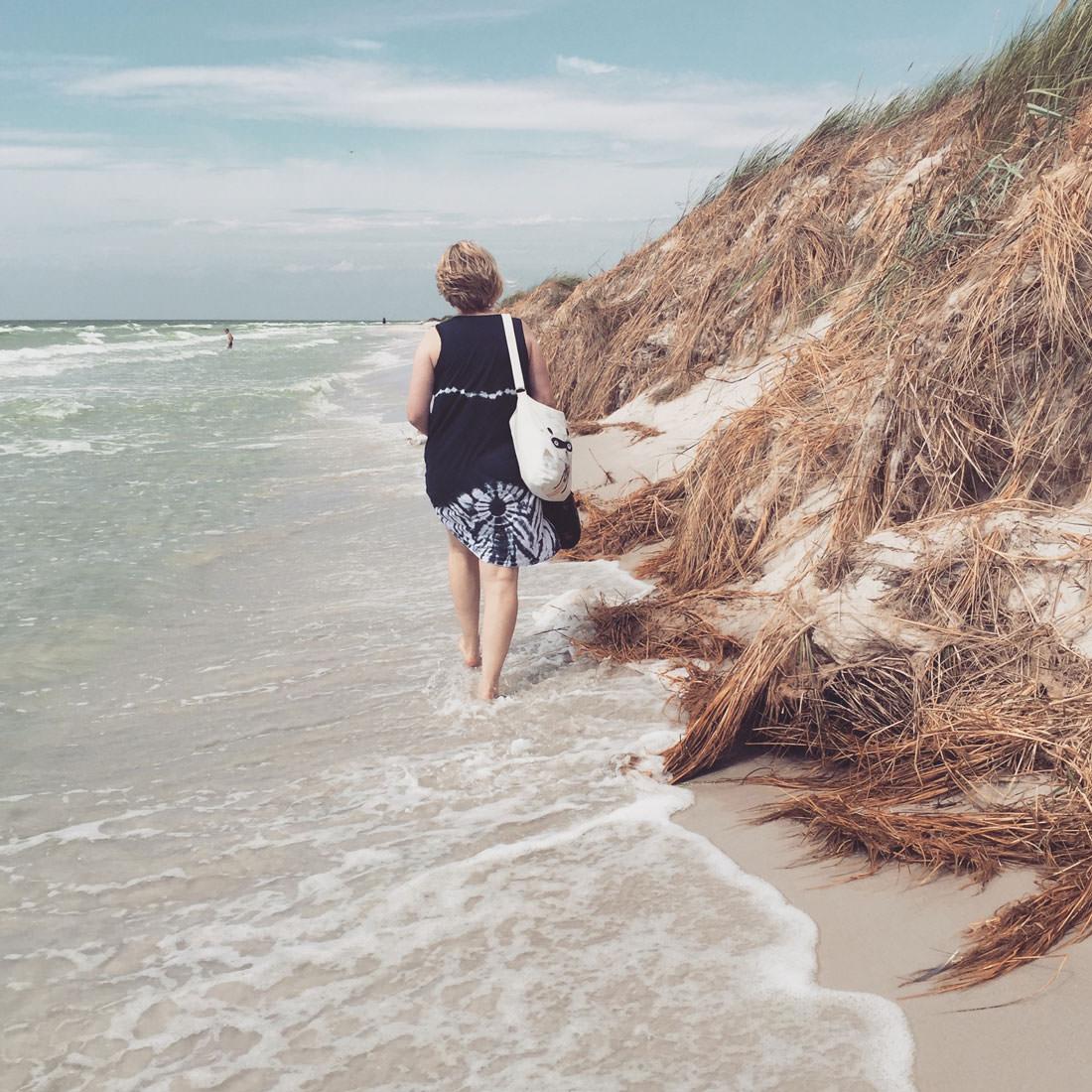Am Strand von Dueodde