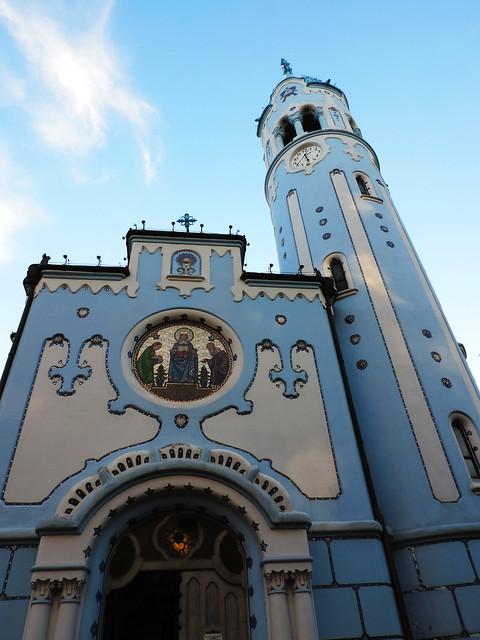 Little Blue Church, Bratislava, Slovakia